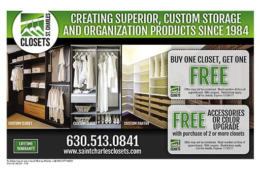 Paul Notter – Owner St. Charles Closets